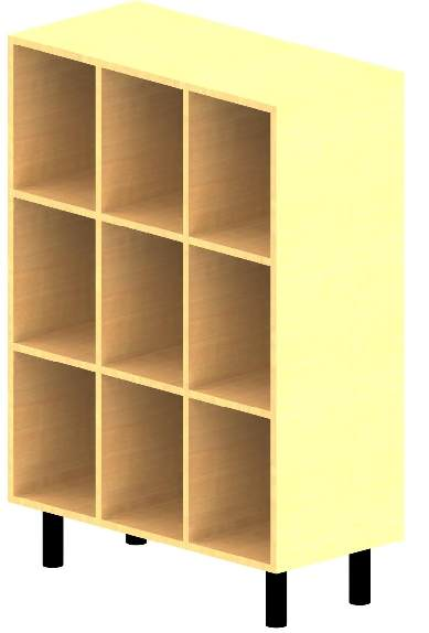Meuble 9 cases mobilier goz for Meuble 9 cases