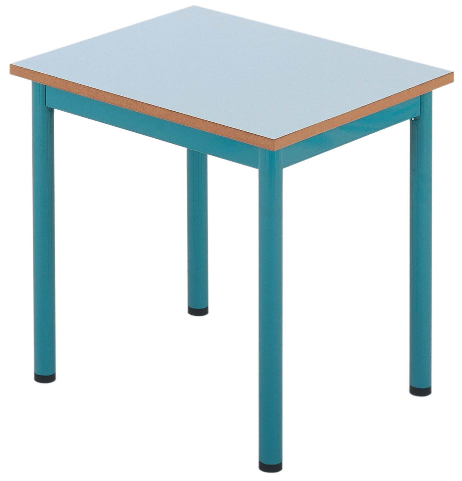 Table maternelle fixe prof. 50 ou 60 cm. - photo 2