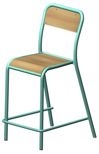 Tabouret hauteur 60 cm simple songmics x tabouret de bar for Chaise 60 cm hauteur