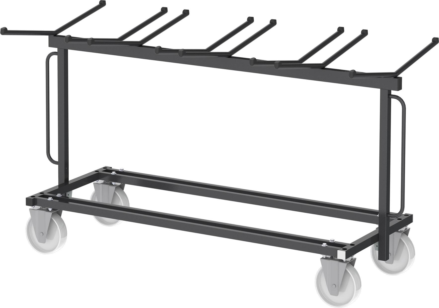 chariot pour chaises pliantes mobilier goz. Black Bedroom Furniture Sets. Home Design Ideas
