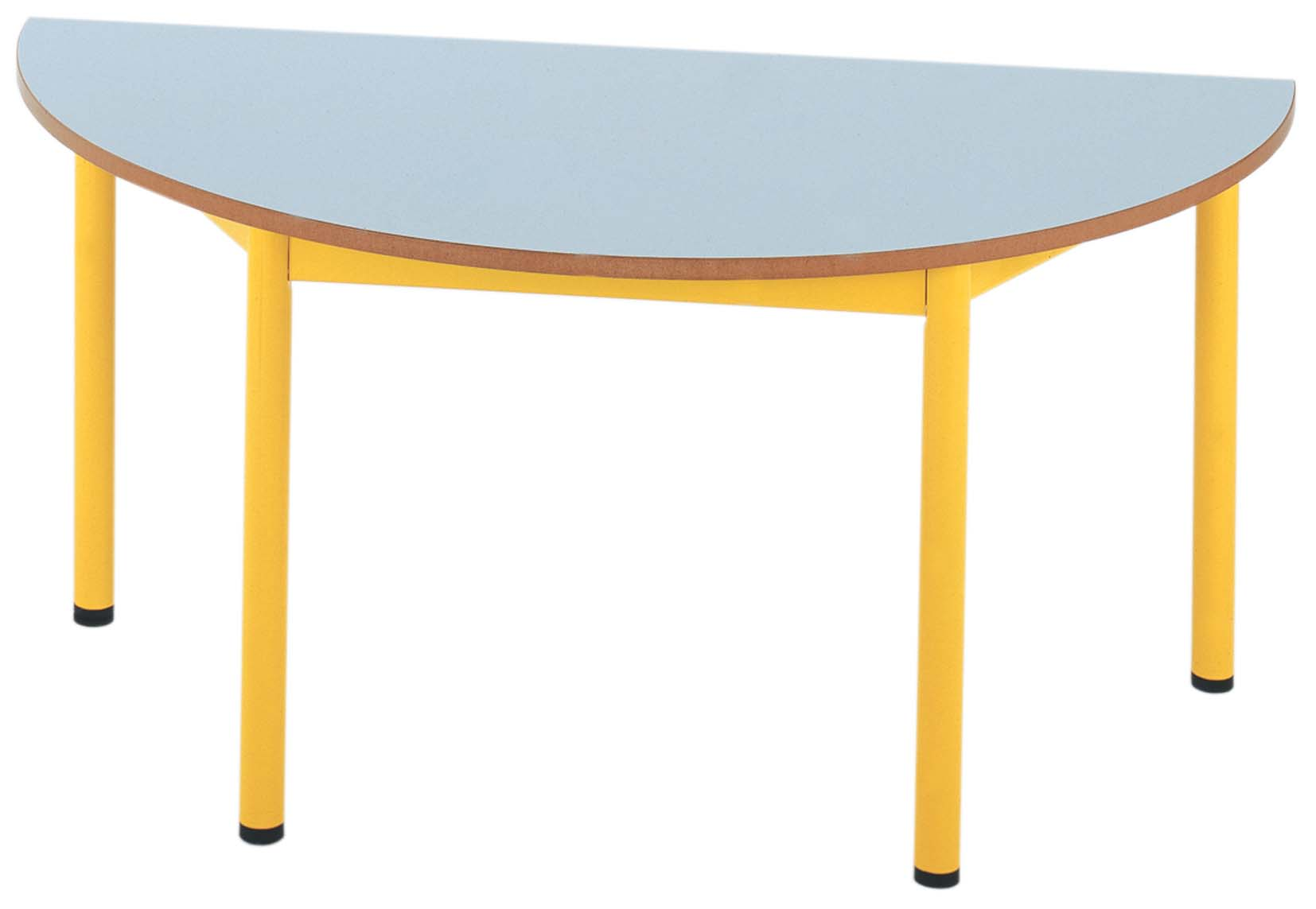 Table maternelle fixe 1/2 Ronde - photo 3